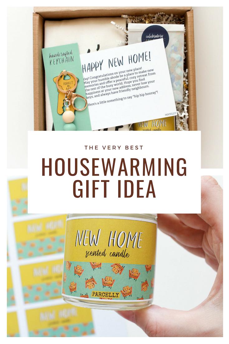 Personalized Housewarming Gift Basket Real Estate Closing Gift