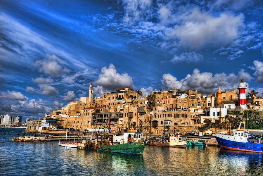 Old Jaffa - Tel Aviv-Jaffa, Israel * One of the oldest cities in