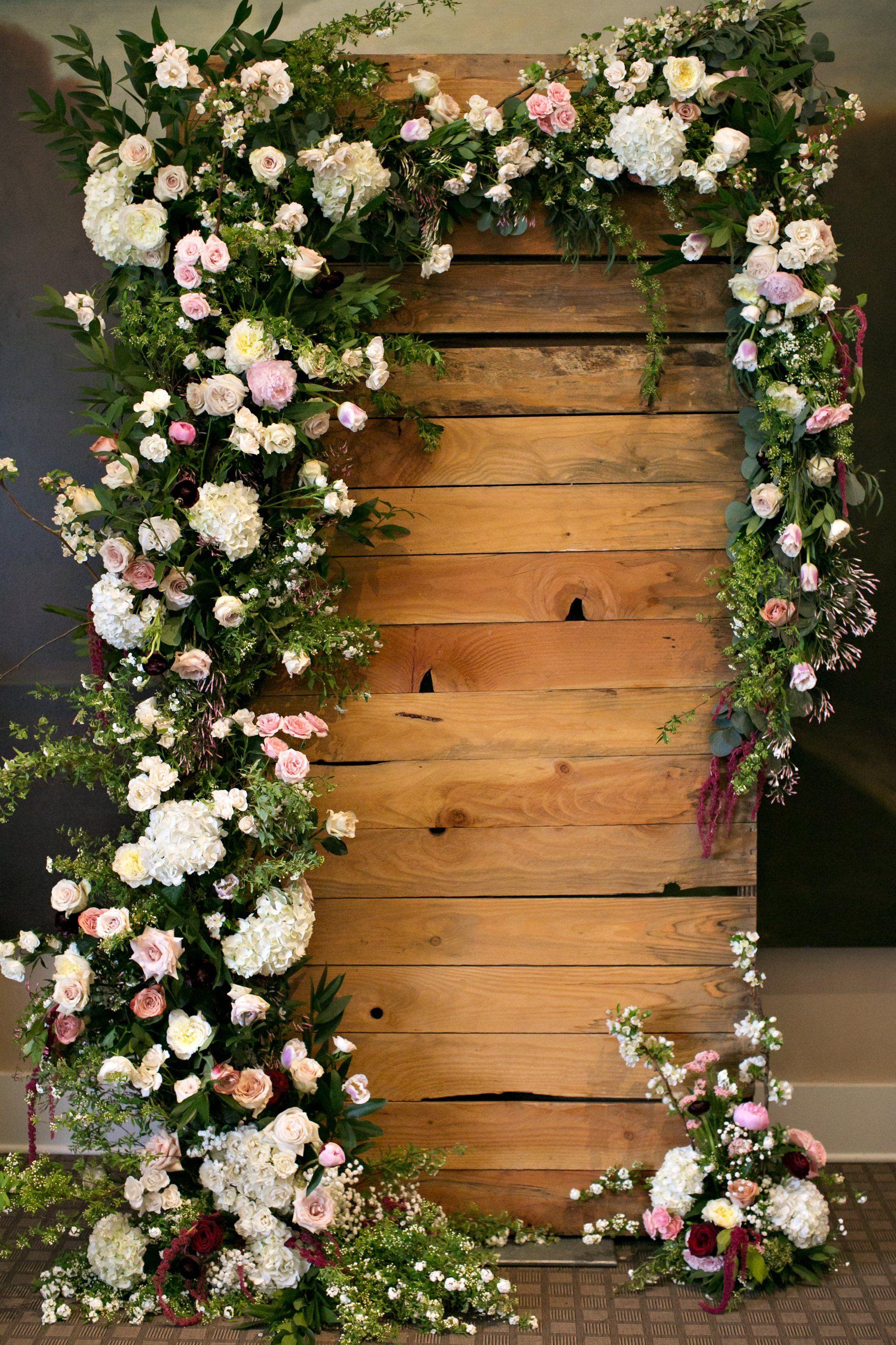 Lush Floral Displays | Wedding Backdrops | Pinterest | Hochzeit deko ...
