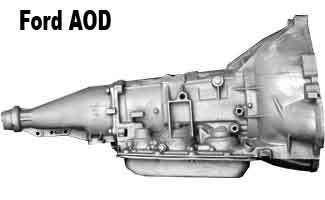 ford aod transmission identification chart