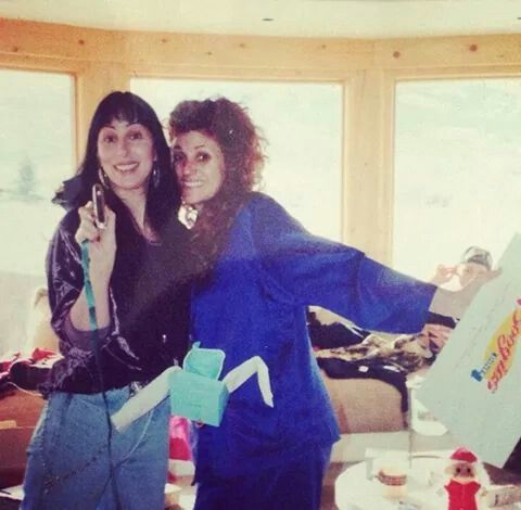 Cher and best friend pauly- Paulette Howell | Cher Cher ...