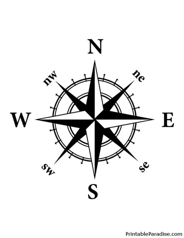 Download Your Free Nautical Compass Stencil Here Save Time And Start Your Project In Minutes Get Printable Compass Rose Tattoo Compass Tattoo Compass Drawing