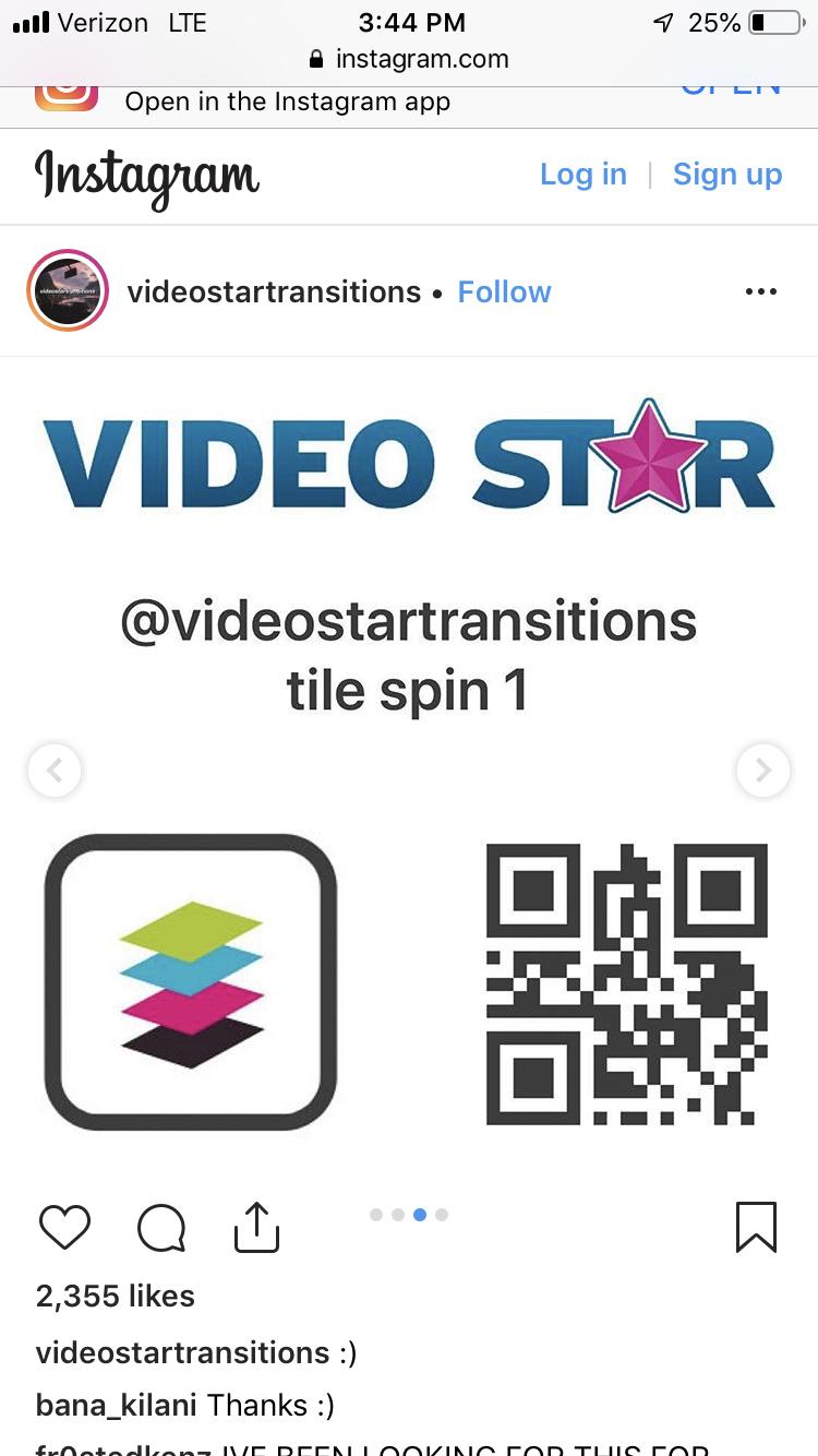 Pin Ot Polzovatelya Ilianaisataco Na Doske Video Star Qr Codes Video Shejk