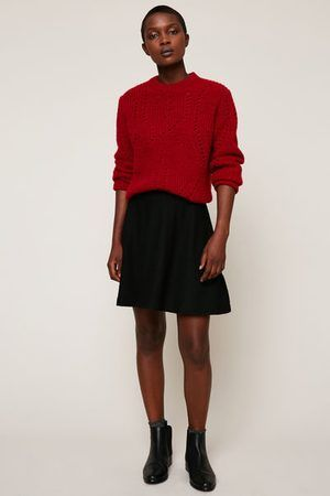 C et a robe rouge