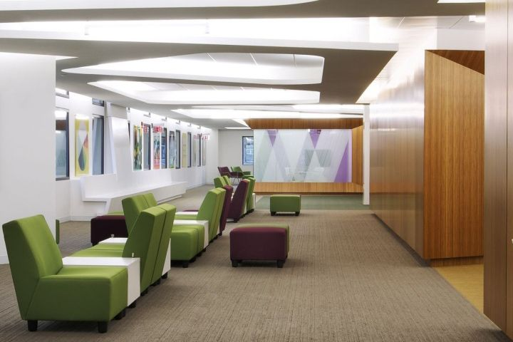 WSU Enrollment Services Center By Robert Maschke Architects, Dayton Ohio  Educational Customer Srvice · Office Interior DesignOffice ...