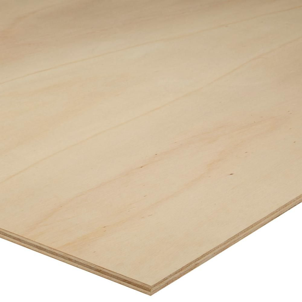 Unbranded 12mm Sande Plywood 1 2 In Category X 4 Ft X 8 Ft Actual 0 472 In X 48 In X 96 In 454532 The Home Depot Hardwood Plywood Plywood Design Plywood