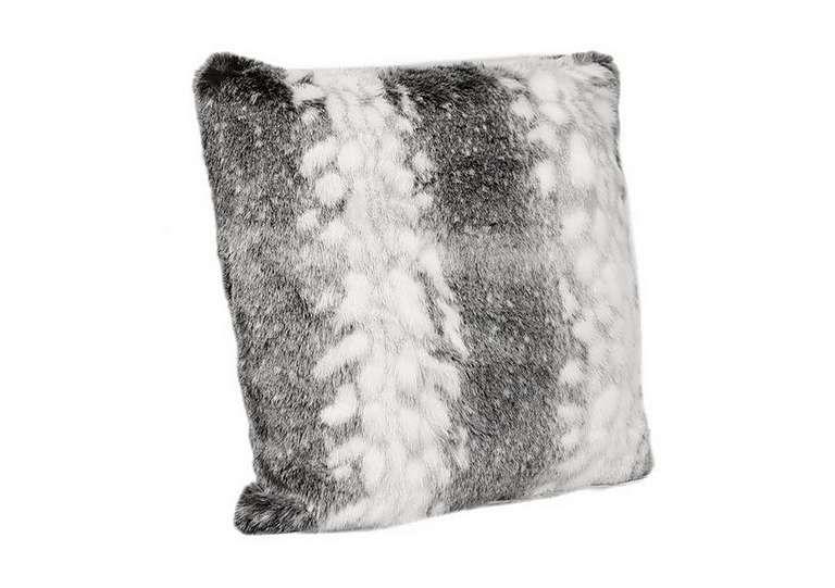 Arctic Stripe Faux Fur Cushion In On FV, Sale £25 · Furniture VillageStripe  ...