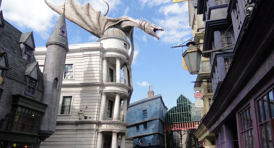Universal Studios Florida The Wizarding World of Harry Potter