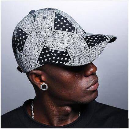 dc62089c924 Polka dot paisley baseball cap for teenage guys UV protection sun hats