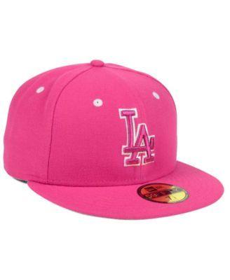 894cf9846e6 New Era Los Angeles Dodgers Pantone Collection 59FIFTY Cap - Pink 7 ...