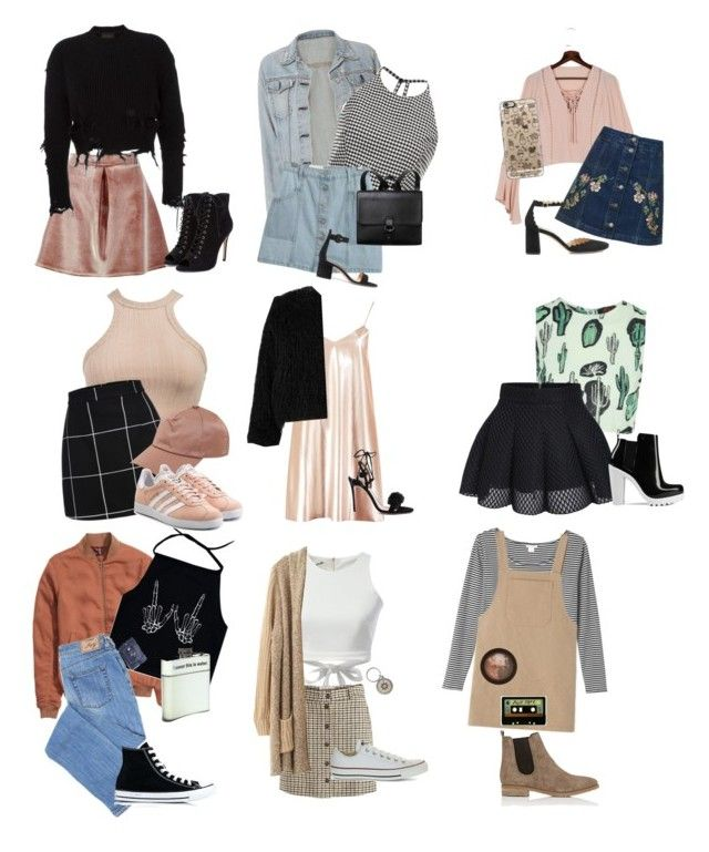 """Wardrobe"" by danielle2222 on Polyvore featuring rag & bone, Motel, WithChic, Sachin + Babi, Monki, Chicnova Fashion, Acne Studios, Stila, INDIE HAIR and Casetify"