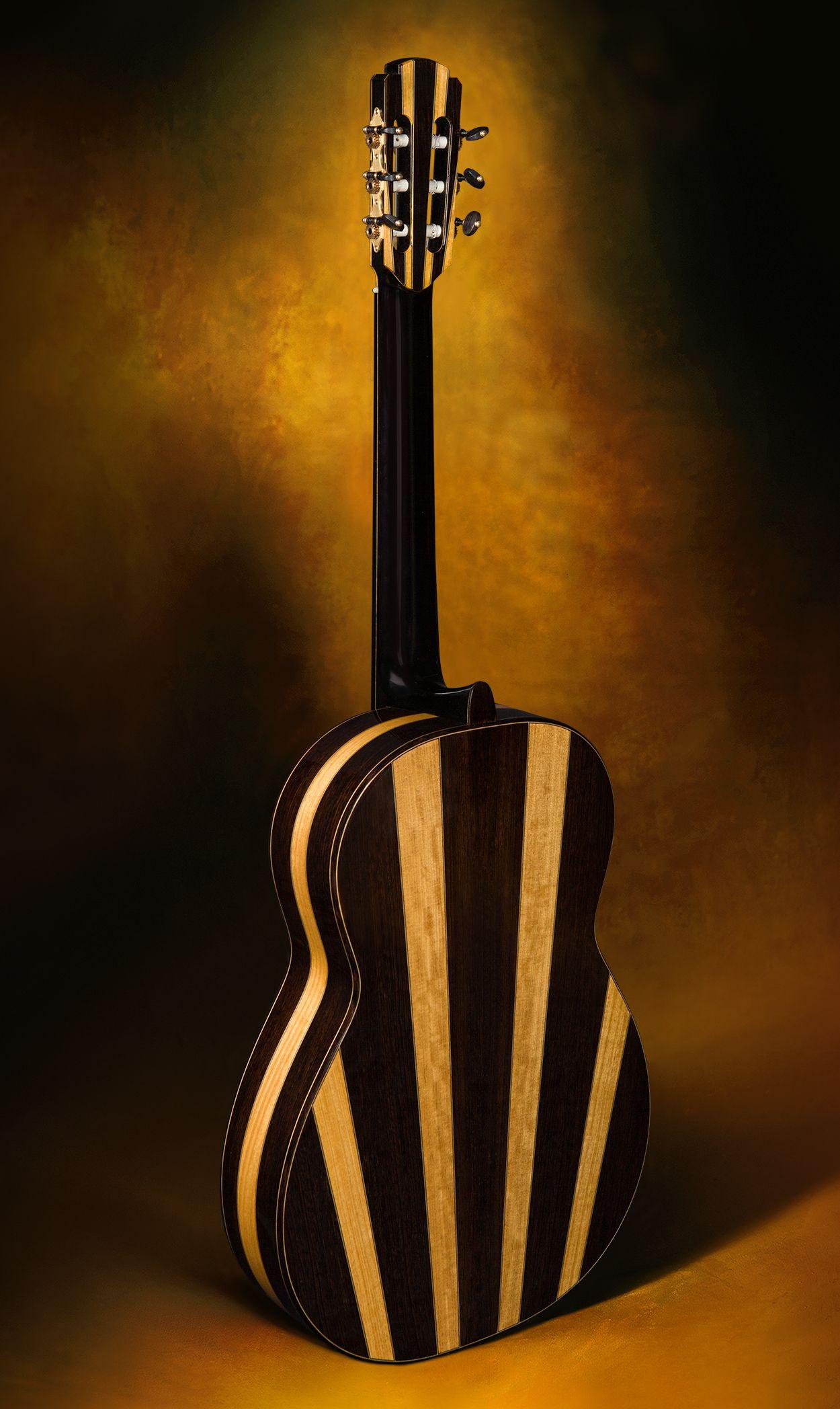 Jeremy Clark Multi Wood Concert Model Classical Guitar Acoustic Guitar Classical Guitar Acoustic Electric Guitar