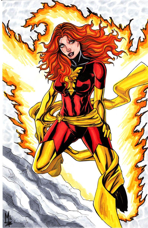 Dark Phoenix by montrosity.deviantart.com on @deviantART
