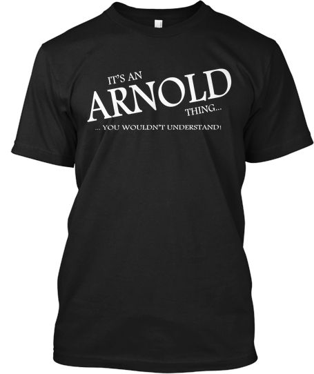 Limited Edition - ARNOLD Thing