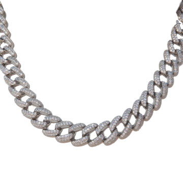 Cuban Link Choker Sterling Silver Jewelry Collection Chokers Silver