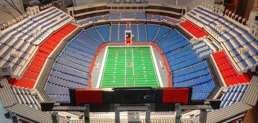 Leggo My Ralph Ralph Wilson Stadium Out Of Leggos Bills Fan Rule Buffalo Bills Football Buffalo Bills Legos