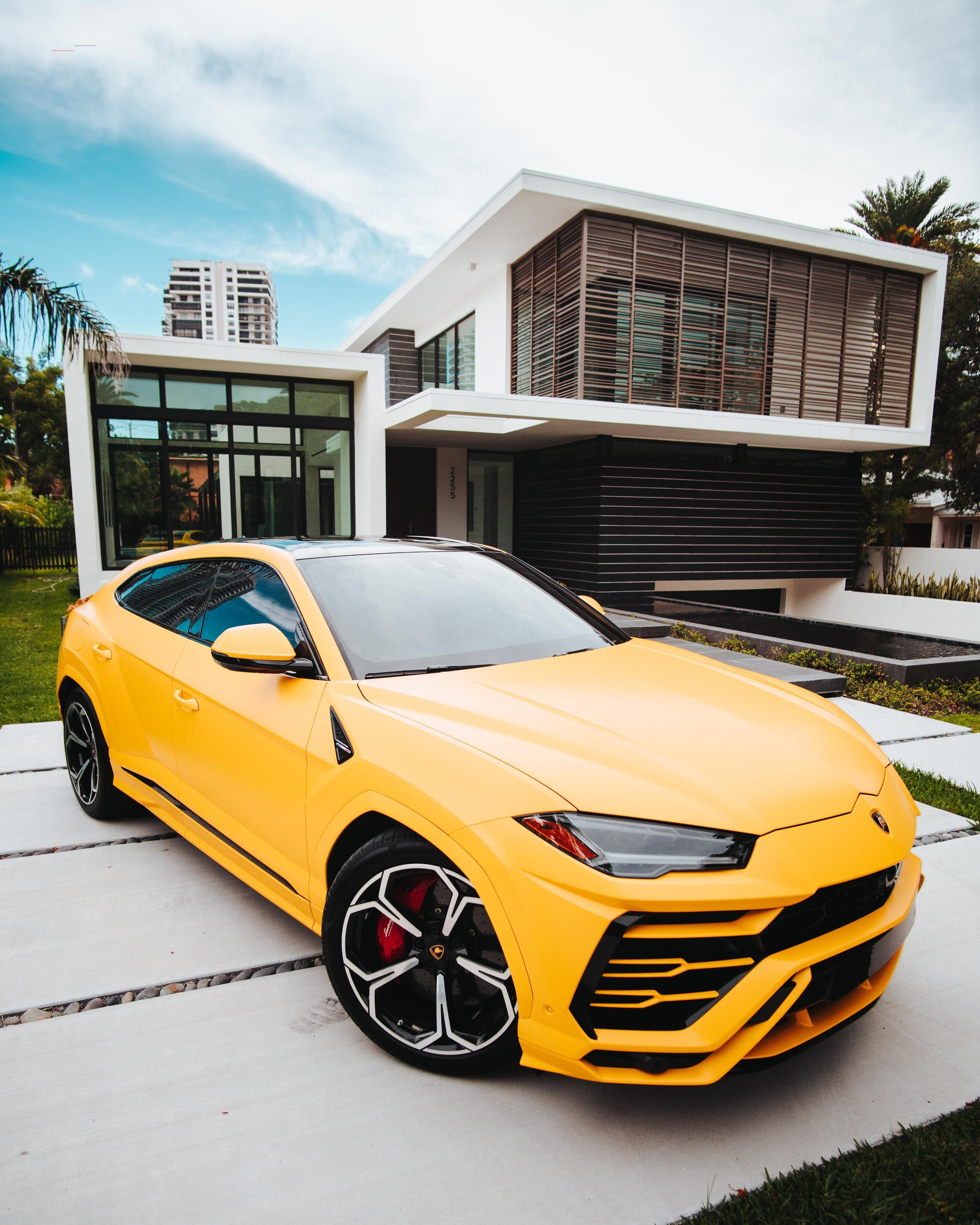 Yellow Lamborghini Urus Luxurycars At Paramount Luxury Rentals We Have A Beautiful Lamborghini Urus Rental List Of Luxury Cars New Sports Cars Luxury Cars