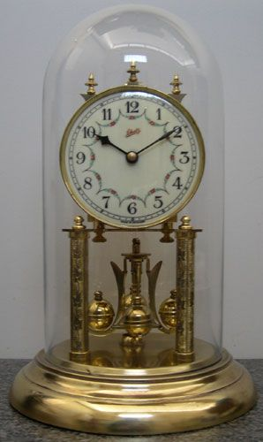 Schatz 400 Day Anniversary Clock Made February 1953 German Made Price Nz 550 00 Reference 0787