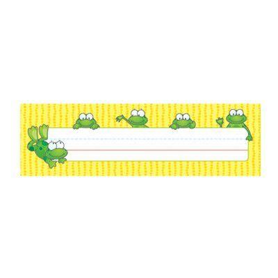 Carson Dellosa Publications Deskplates Frogs Name Tag (Set of 3)