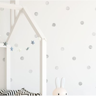 Mack Milo Barrowman Watercolor Dots Wall Decal In 2019 Wall