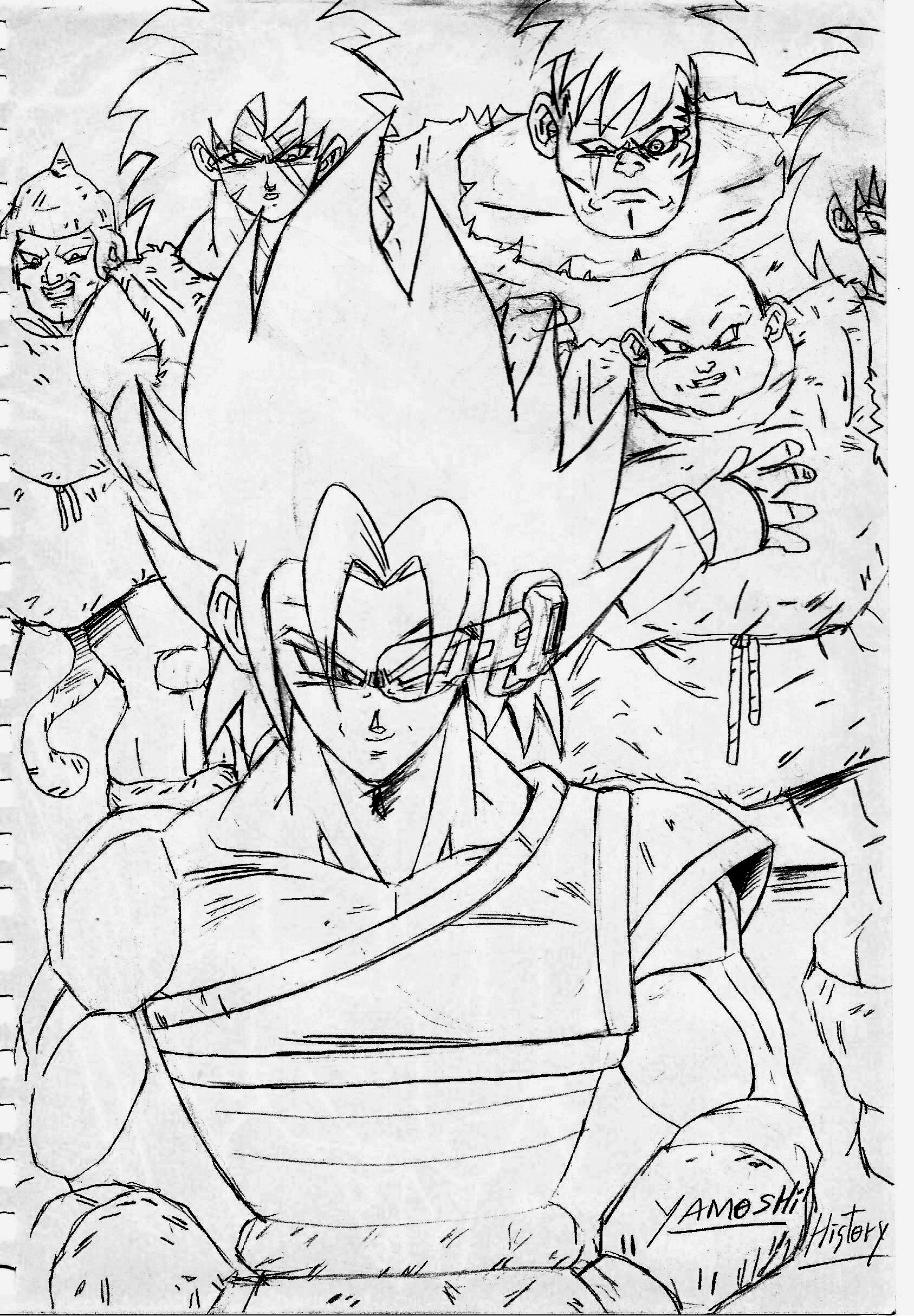 Yamoshi Libro de Relatos de Namek By Julianartfan | Dragon ball Z ...