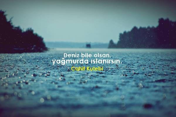 Deniz Ile Ilgili Sözler şiir Defteri Poems Quotations