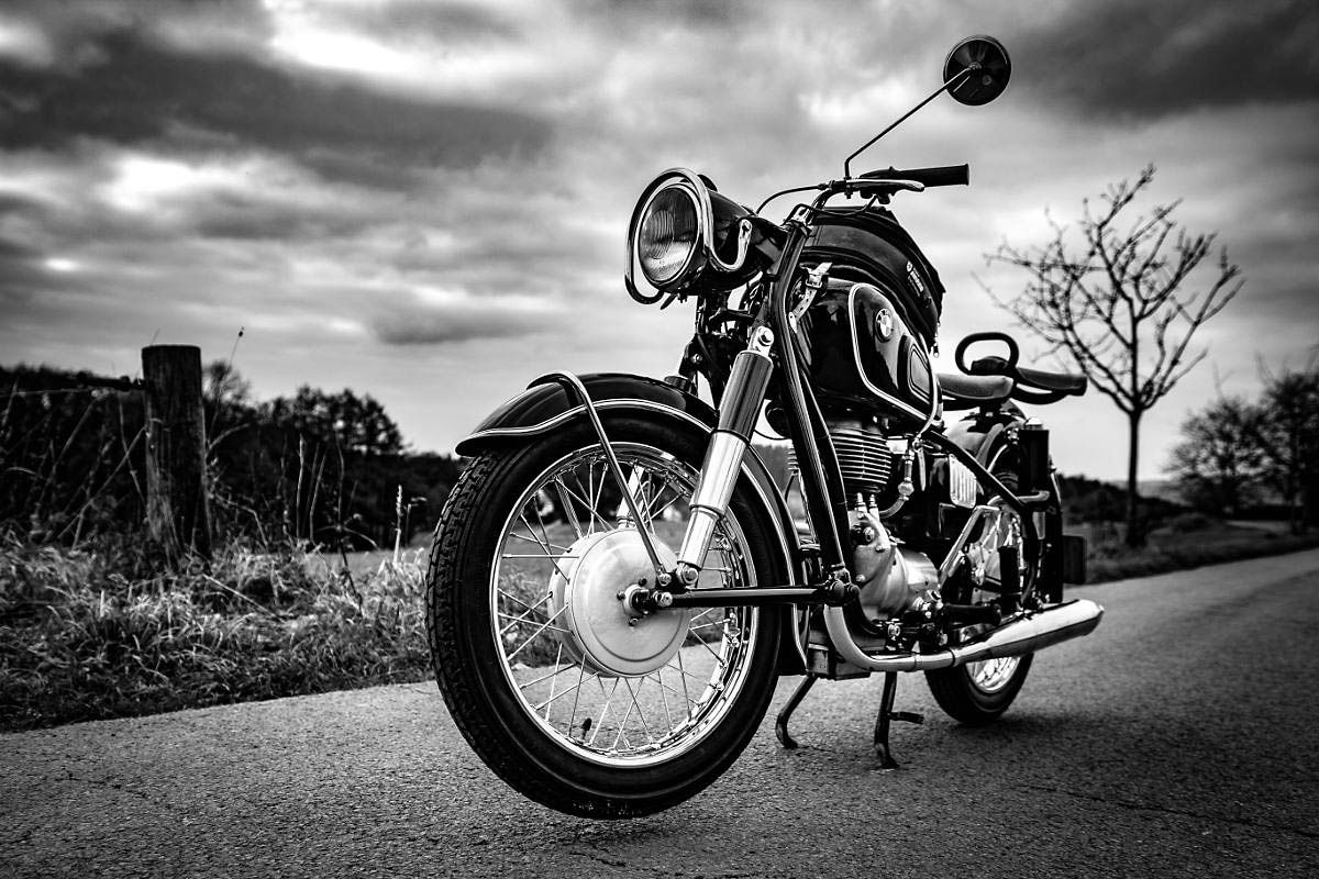 Dodging The Roadkill The Last Ride Motorcycle Wallpaper