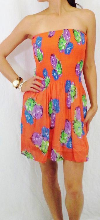 http://5dollarfashions.com/products.php?product=Orange-Floral-Tube-Dress!-Orange-Stripes!