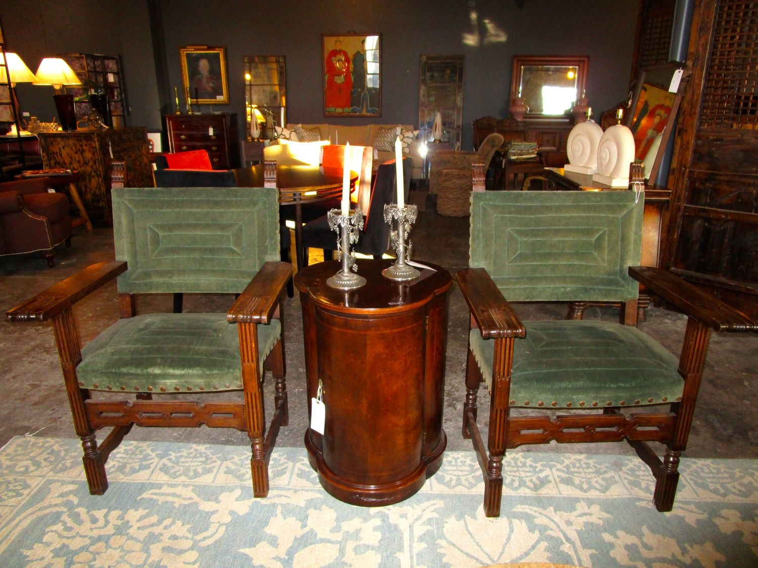 Pair Of Antique Spanish Colonial Chairs — Sarah Cyrus Home