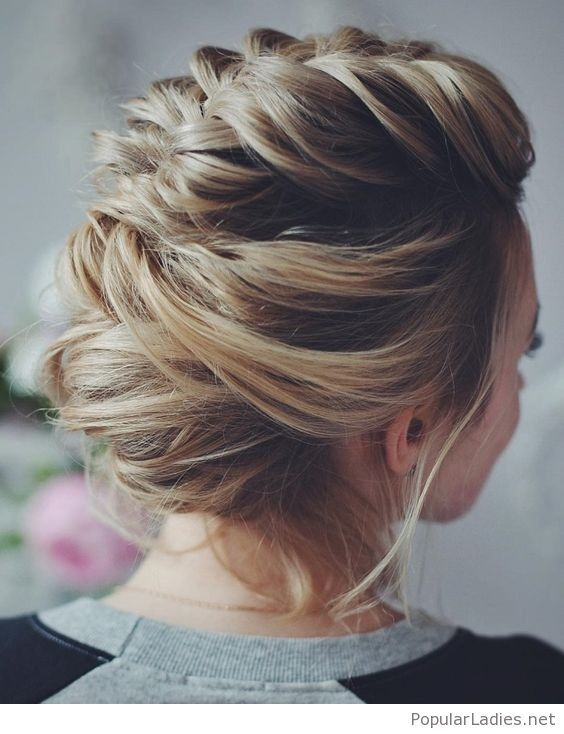 Awesome Braided Updo Hair Pinterest Updo