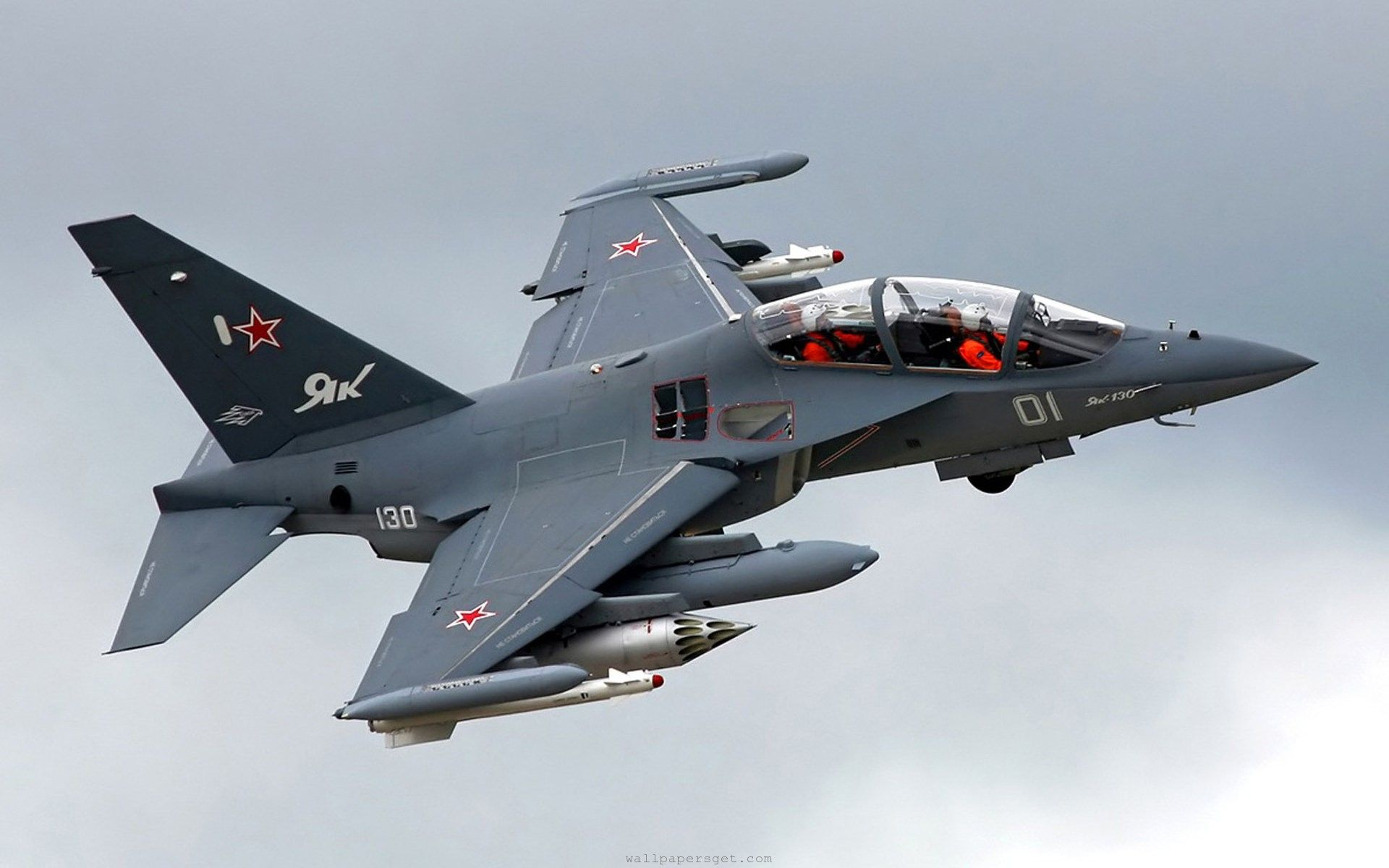 yakovlev yak130 attack fighter subsonic two seat advanced