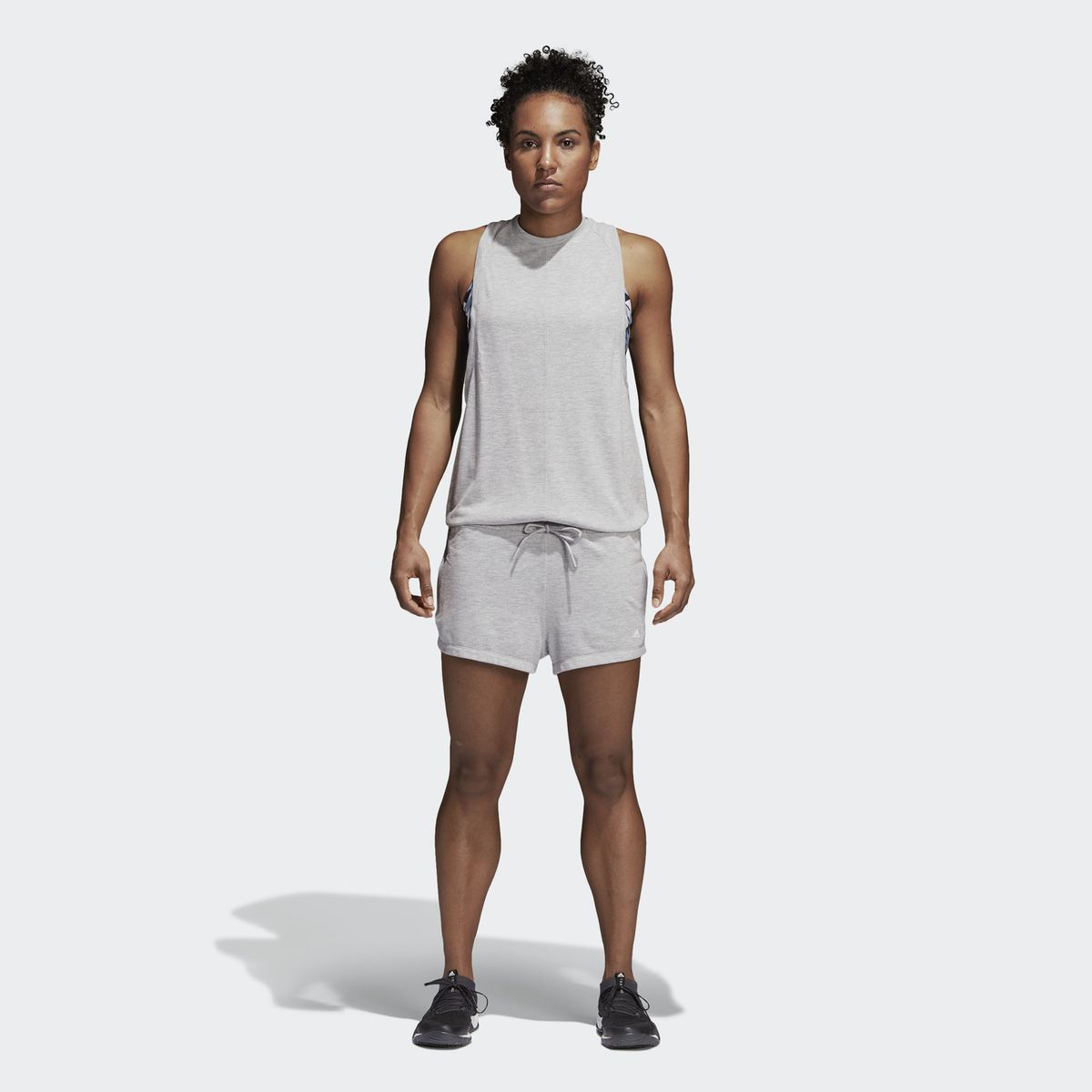 combi short adidas femme