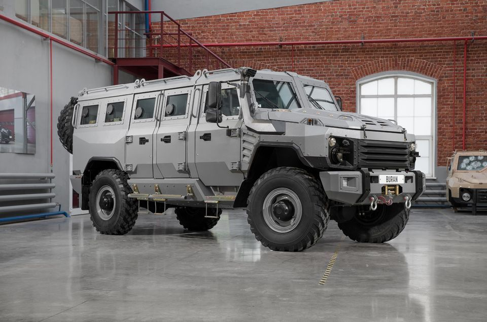 Russian Extreme Offroad Trucks Armored Truck Armored Vehicles Motor Car