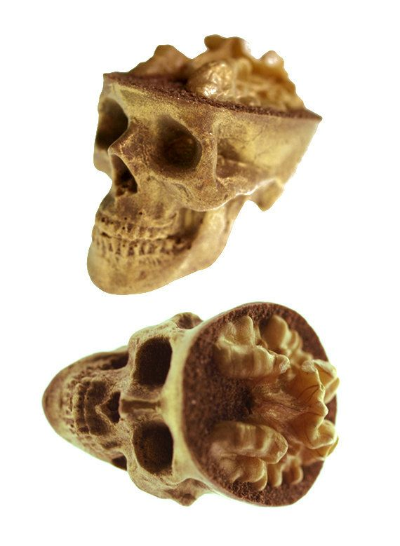and chocolate Skulls Gone Nuts