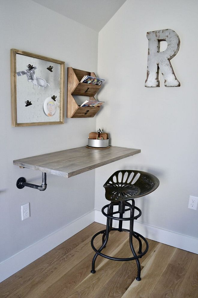 diy floating desk diy home. DIY Floating Desk. One Of The Most Unique Features In His Room Is Industrial Style Desk My Husband Built For Him. Diy Home A