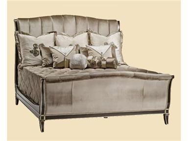 Marge Carson Bedroom Ionia Sleigh Bed At Kathy Adams Furniture And Design  At Kathy Adams Furniture And Design In Dallas, TX, Plano, Texas