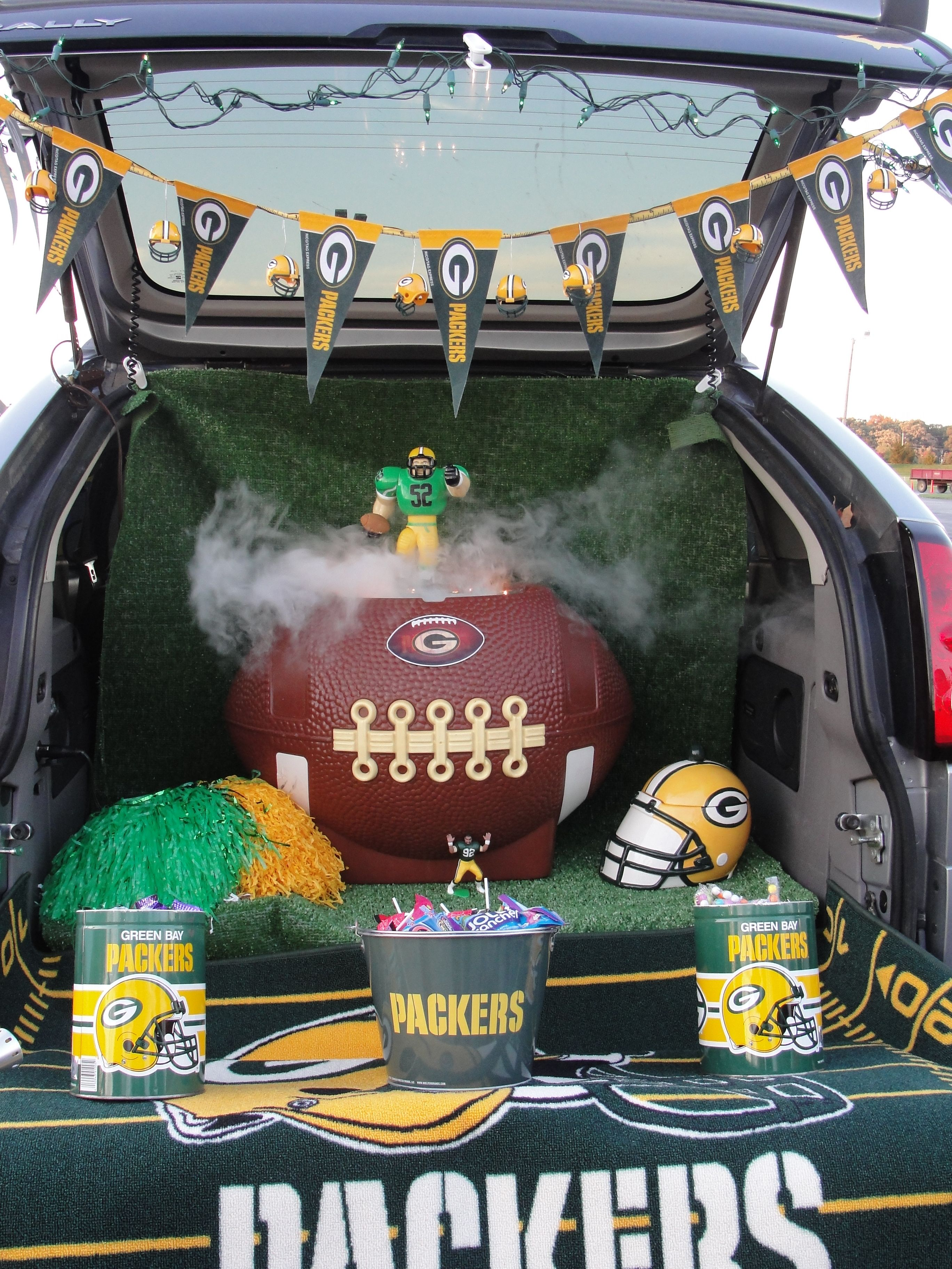 Gmail themes halloween - Trunk Or Treat Football Theme Love My Packers