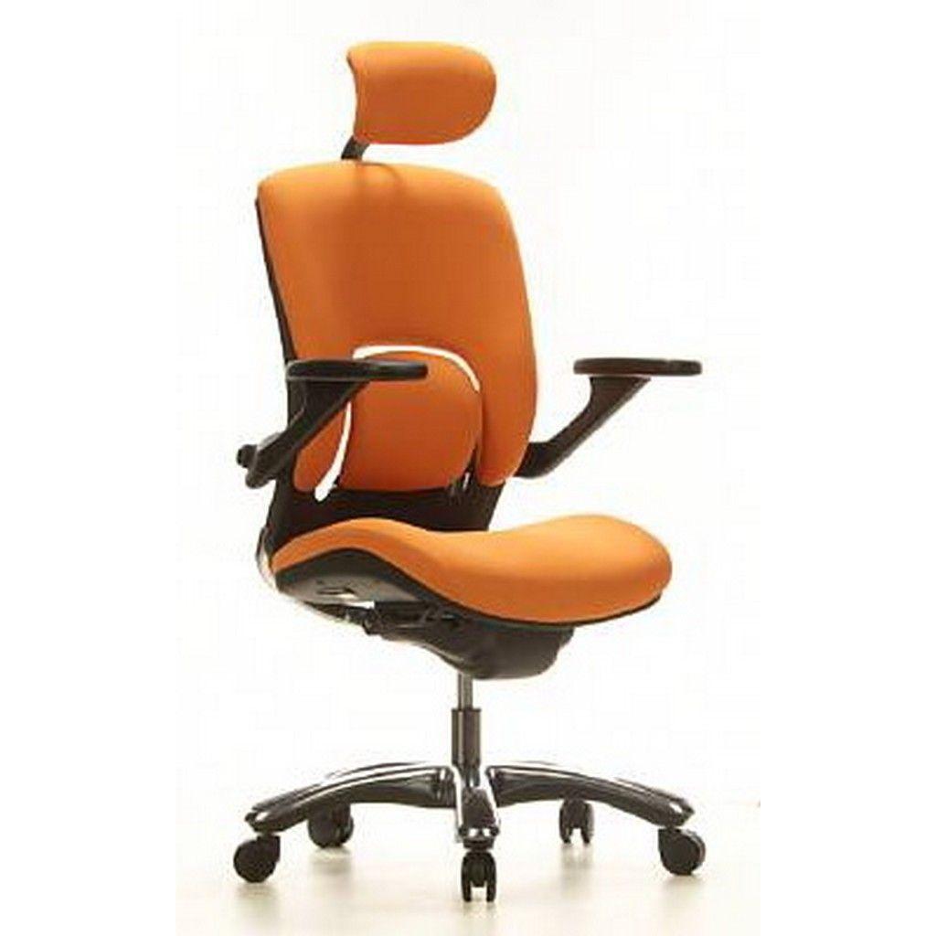 Bürostuhl in der Farbe Orange http://www.bueromoebel-experte.de ...