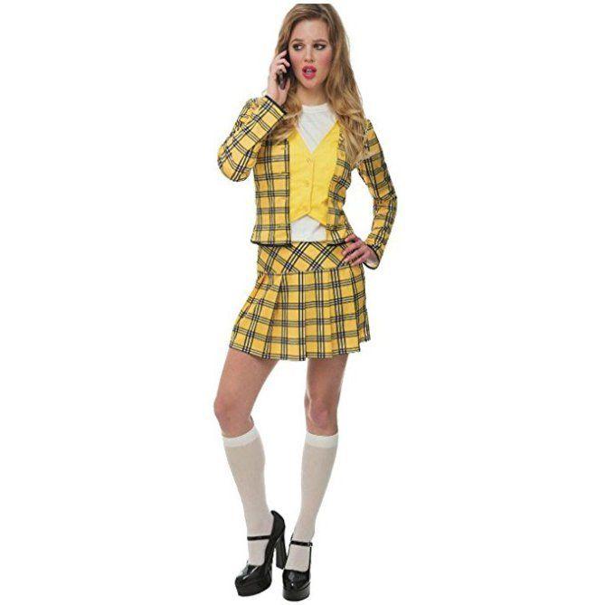 Last Minute Halloween Costumes To Amazon Prime Clueless Costume Cher Clueless Costume Clueless Halloween Costume