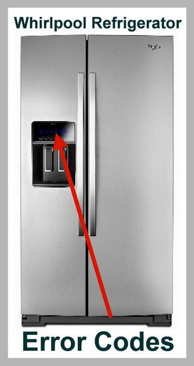 Whirlpool Refrigerator Error Codes Diy Tips Tricks
