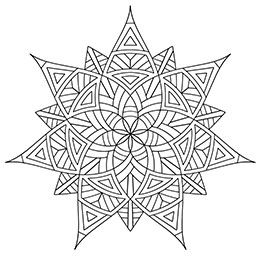 Geometrip.com - Free Geometric Coloring Designs - Shapes | Color Me ...