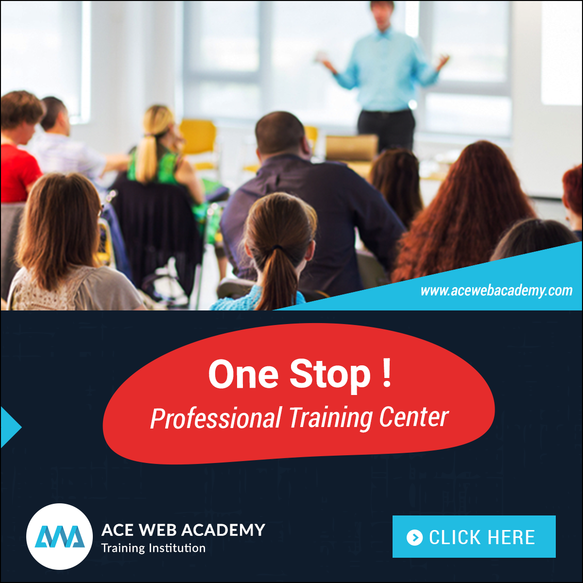 Aceweb ace web academy - one stop professional training center
