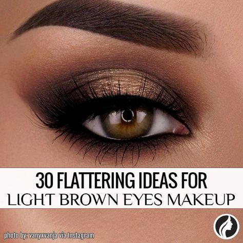 you need to see these makeup looks for your light brown