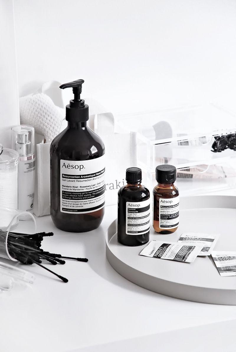 Bathroom Aesop Favorites Bathroom Styling Monochrome Bathroom Bathroom Inspiration