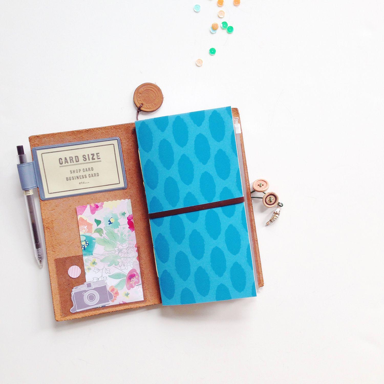 Analog Paper | My Traveler's Notebook Art Journal