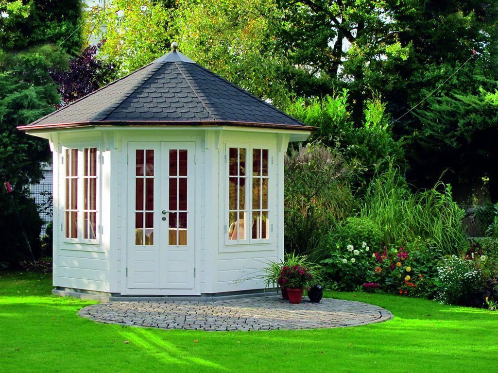 Popular Der Gartenpavillon Milano von Wolff Finnhaus gl nzt mit seiner edlen Optik und verleiht Ihrem Garten