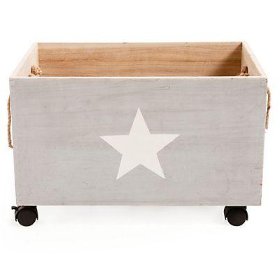 Caisse De Rangement A Roulettes En Bois Pour Enfant Toy Chest Crates Crate Barrel