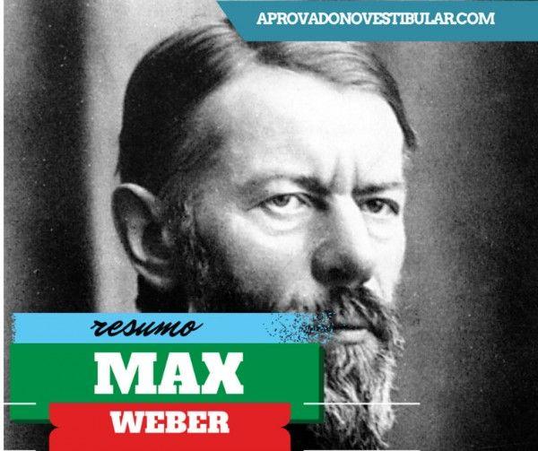 Resumo De Max Weber – Obras E Frases