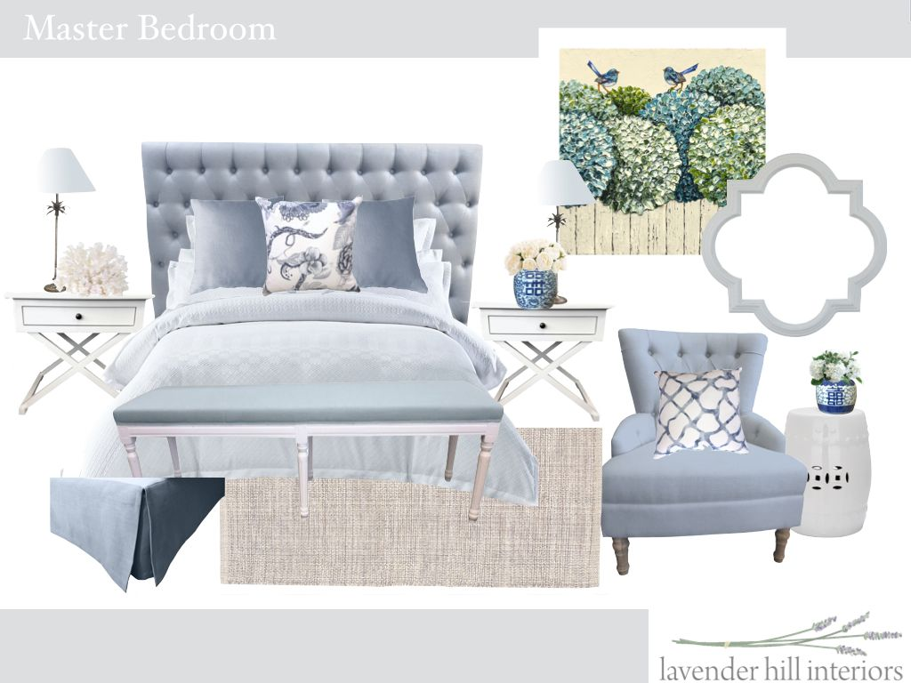Hampton Style Bedrooms Hamptons Inspired Bedroom From Lavender Hill Interiors