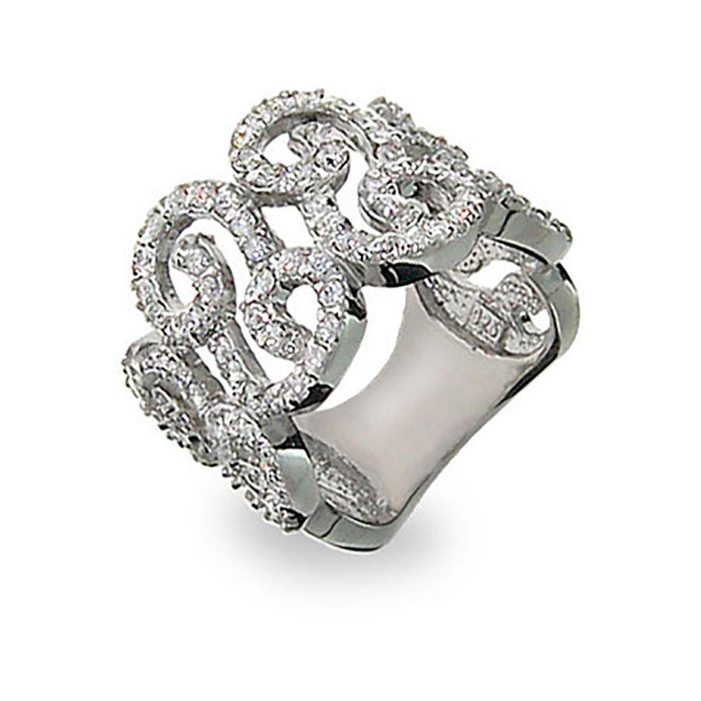 pave-diamond-right-hand-rings-elegant-sterling-silver-diamond-cz ...